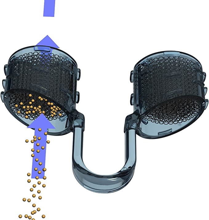 Heallily Lot de 100 filtres hygi/éniques pour aspirateur nasal Nosefrida