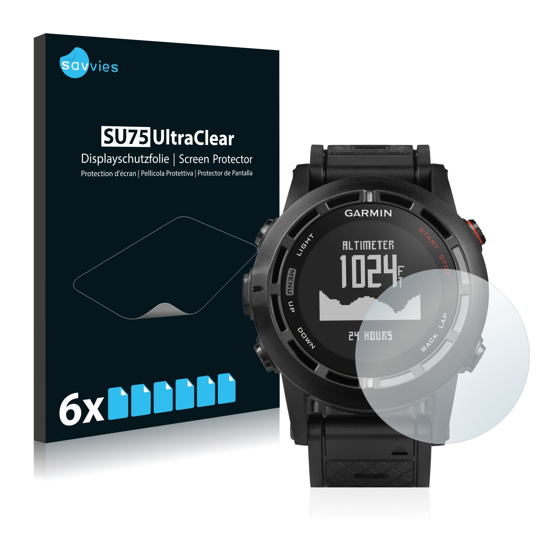 6x Savvies Screen Protector for Garmin Aera 795 Ultra Clear