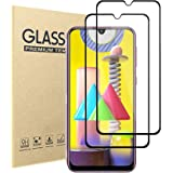 Screen Protector For Samsung Galaxy M31,HD Clear 9H Hardness Scratch Resistant Tempered Glass Protective Film for…