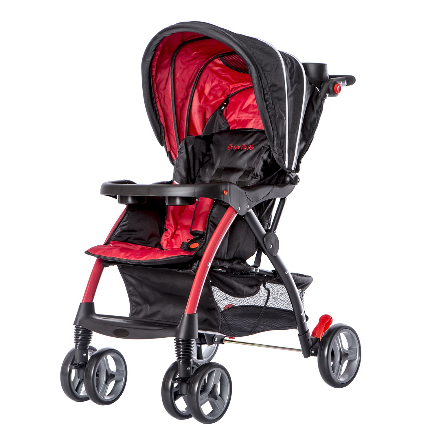 Dream On Me Maldives Lightweight Stroller, Red by Dream On Me (Image #1)