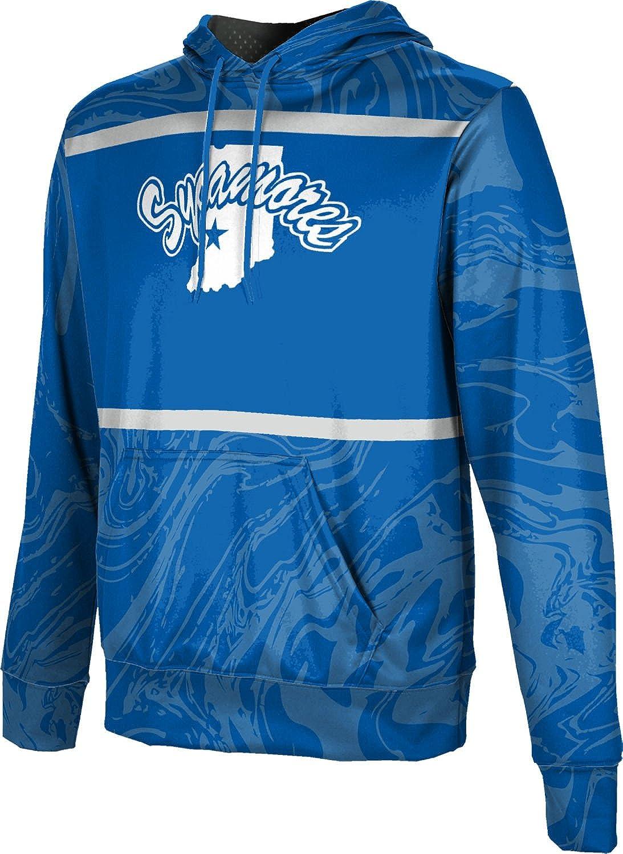 ProSphere Indiana State University Mens Pullover Hoodie Ripple School Spirit Sweatshirt