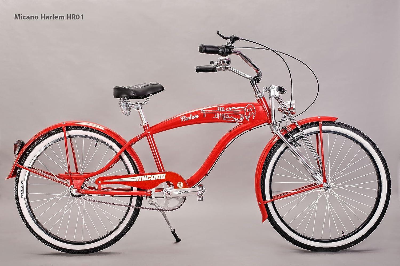 /Camiseta Cruiser playa bicicleta 26/y ruedas California estilo bicicleta micano Harlem/