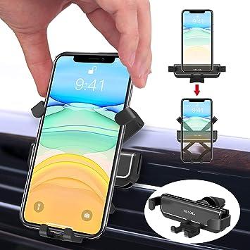 Ossky Soporte Móvil Coche.Rejillas del Aire de Universal Soporte Teléfono Coche Ventilación para iPhone 11/11Pro/11Pro MAX y Otros Smartphone,etc.de 4.7 a 6.5Pulgadas.: Amazon.es: Electrónica
