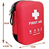 First Aid Kit - 170 Pieces Hard Case and