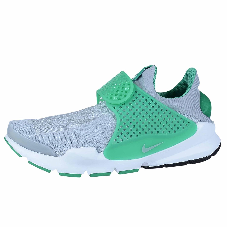 the latest ab250 e84c5 Nike Sock Dart KJCRD Wolf Grey Green White Mens Casual Running 819686 004