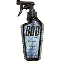BOD Man Fragrance Body Spray, Dark Ice, 8 Fluid Ounce