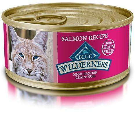 best grain free wet cat food 2020 Amazon.: Blue Wilderness Adult Grain Free Salmon Pate Wet Cat