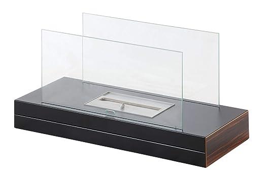 muenkel Diseño Plain Fire etanol Chimenea de mesa: Negro: Amazon ...