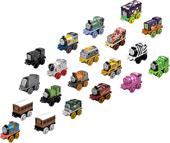 Fisher-Price Thomas & Friends MINIS 20-Pack of Train Engines [Amazon Exclusive]