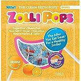 Zollipops 祖莉 木糖醇棒棒糖 清洁牙齿 抗蛀牙 桔子味 15支