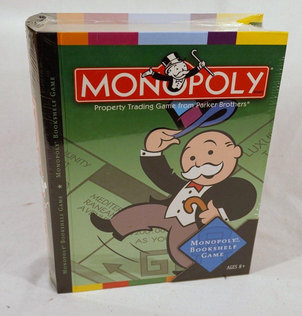 Monopoly Bookshelf Game by Hasbro
