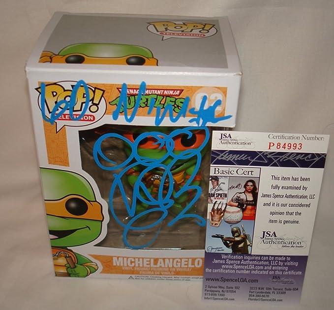 Vanilla Ice Rob Van Winkle Signed / Autographed Michelangelo Teenage Mutant Ninja Turtles Funko Pop Toy Doll Figurine - JSA