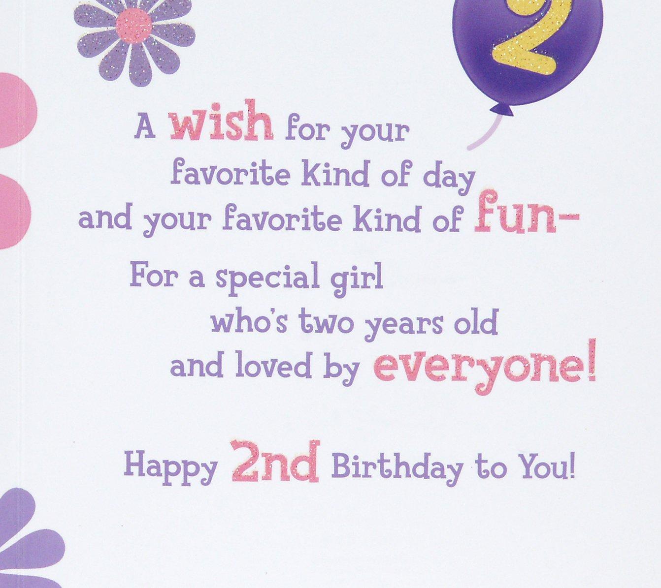 Hallmark 2nd Birthday Greeting Card for Girls (Tweety): Amazon.in ...