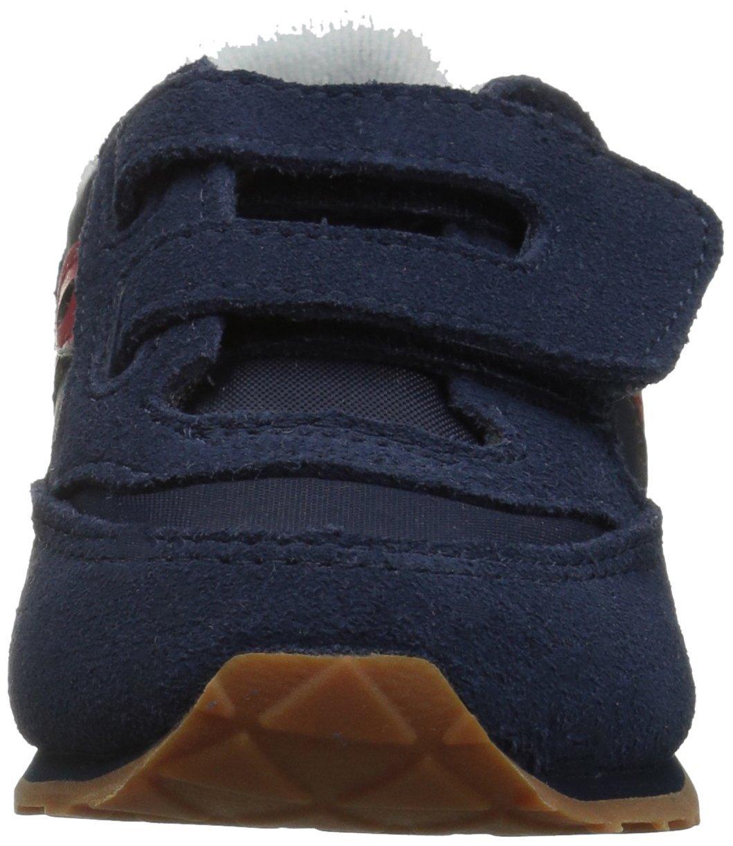 Saucony Jazz Hook & Loop Sneaker (Toddler/Little Kid), Navy/Red, 12 M US Little Kid by Saucony (Image #4)