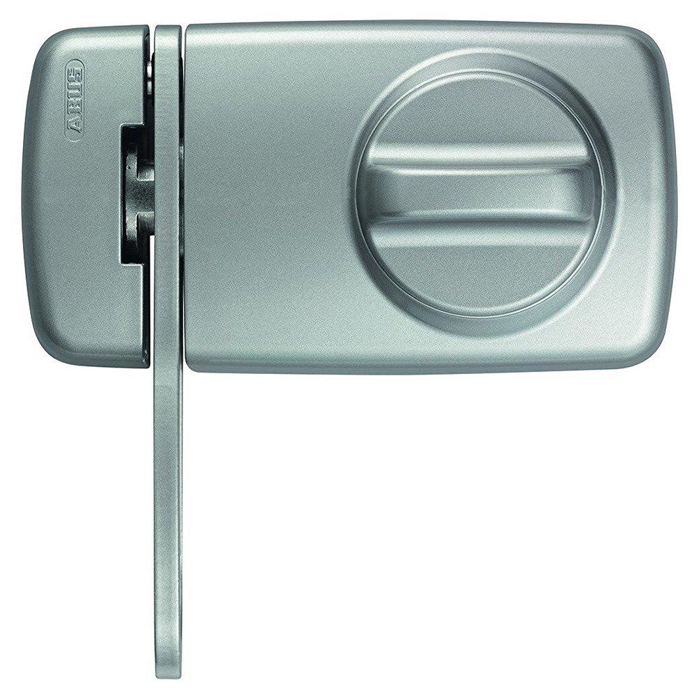 ABUS 532993 7030 S Verrou de porte avec entrebâ illeur Argent