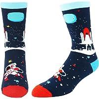 0debb04968f1 Novelty Crazy Funny Crew Socks for Men Golf Flamingo Flag Math Animal  Casual School Sports Socks