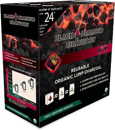 ft. Black Diamond CharWood 197069 BD088 Lump Charcoal 0.88 cu