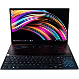 CUK ASUS ZenBook Pro Duo UX581 Touchscreen Laptop with Screenpad Plus (Intel i9-9980HK, NVIDIA GeForce RTX 2060, 32GB…