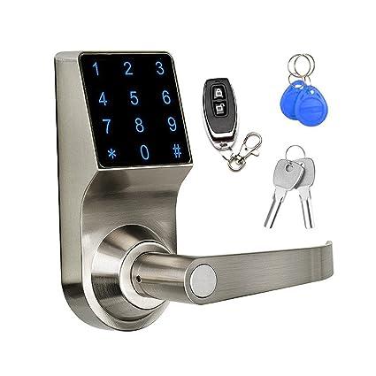 Charmant Keyless Electronic Digital Smart Door Lock, Touchscreen U2013 Smartcode  Security, Grant U0026 Control Access