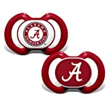 Baby Fanatic 2 Piece Pacifier Set, University of