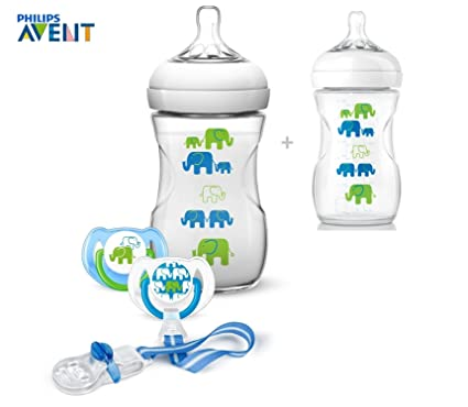 Philips Avent Set scd628/01 Natural 2 x Botella con silicona ...
