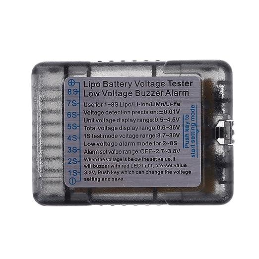 G.T. Power 1-8S Lipo/Li-ion/LiMn/Li-Fe Battery Voltage ...