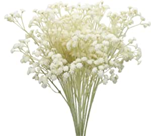 Duovlo 10pcs Babies Breath Flowers 23 6 Artificial Gypsophila Bouquets Real Touch Flowers For Wedding Home Diy Decor Kitchen Dining Amazon Com