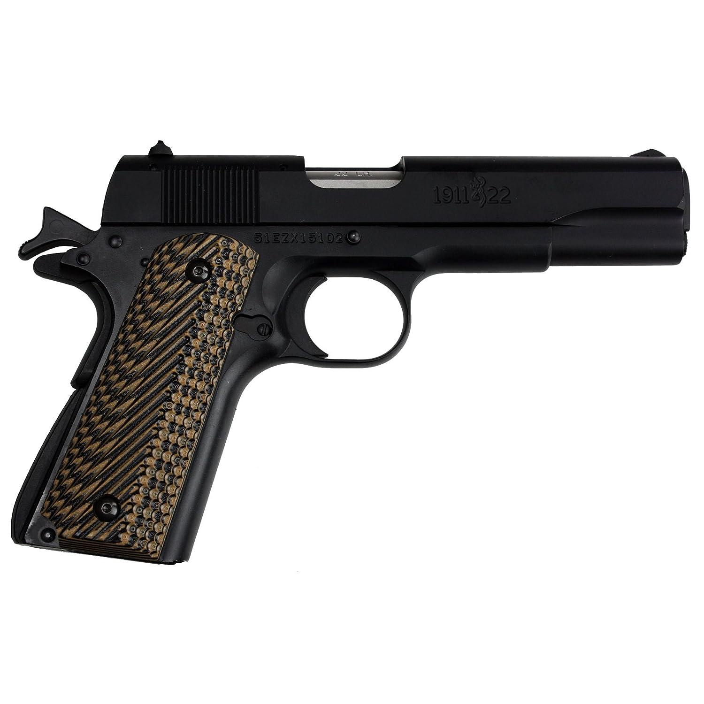 Amazon.com : StonerCNC Browning 1911-22 Gun Grip Slash & Burn G10 ...