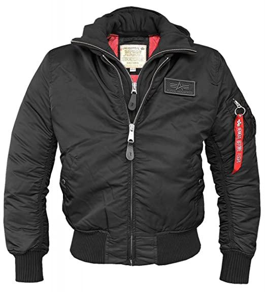 Alpha Industries MA-1 D-Tec Flight Jacket  Amazon.co.uk  Clothing 9b396fb6125