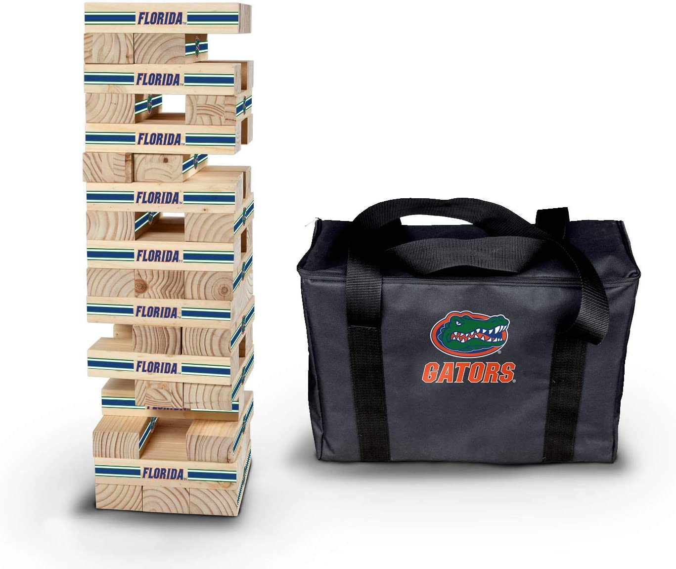 PROLINE NCAA College Florida Gators Super Stackers 10x3.5x2.5 Stripe Design