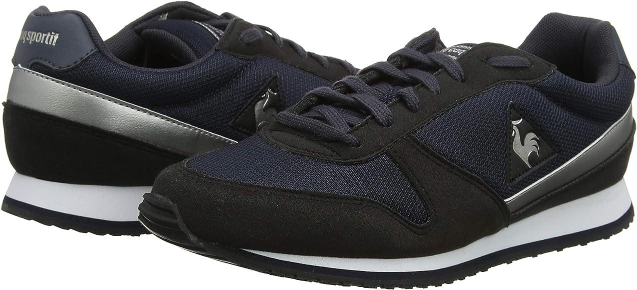 LE COQ SPORTIF Alpha II W Sport, Zapatillas para Mujer, Negro (Black/Old Silver Black/Old Silver), 38 EU: Amazon.es: Zapatos y complementos