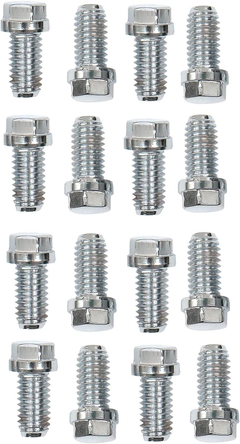 ARP 4001104 Stainless 300 Hex Drilled Header Bolts Pack of 16 400-1104