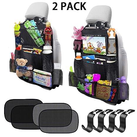 Amazon.com: Organizador de asiento trasero de coche con ...