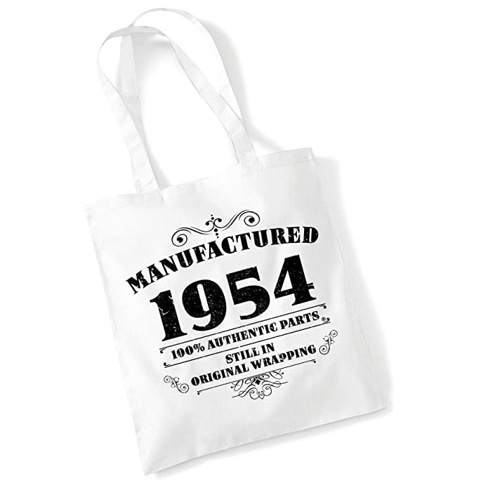 52nd Birthday Gift Tote Shopping Cotton Bag Vintage 1967 Matured To Perfection