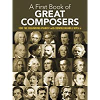 My First Book Of Great Composers (Dover Music