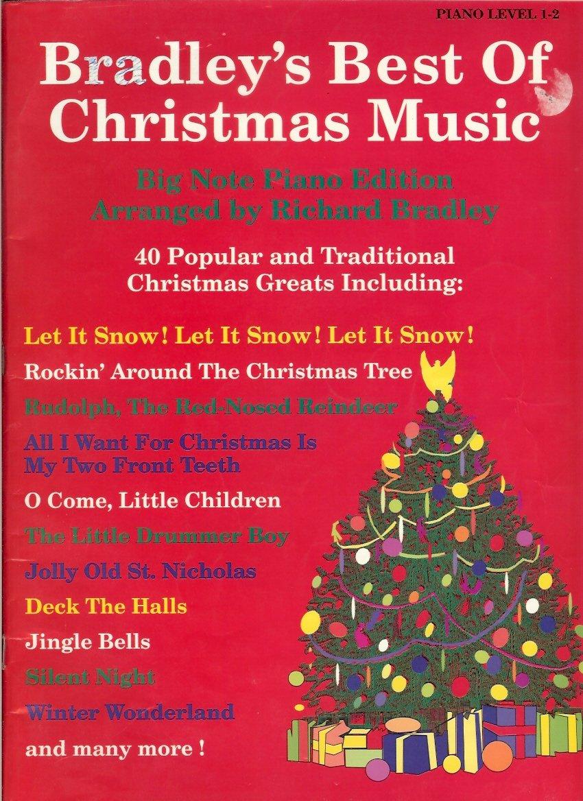 Christmas Music In August.Bradley S Best Of Christmas Music Richard Bradley