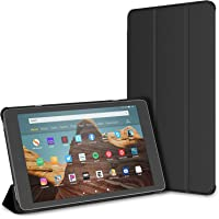 "JETech Case for Amazon Fire HD 10 Tablet 10.1"" (7th / 9th Generation, 2017 Release / 2019 Release) Smart Cover with Auto…"