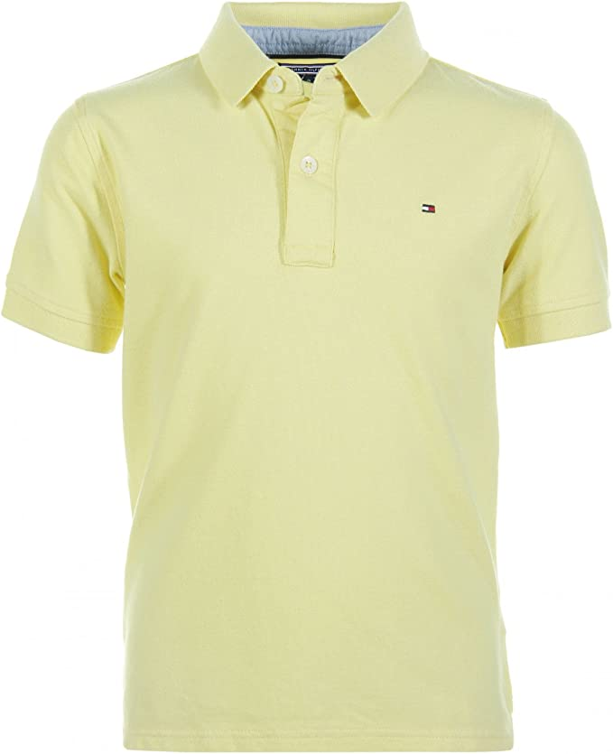 Tommy Hilfiger - Tommy Polo S/S, Talla 10, Color Amarillo, Chico ...