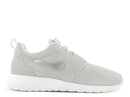 Nike Roshe Run (WhiteMetallic Platinum) Women's Shoes