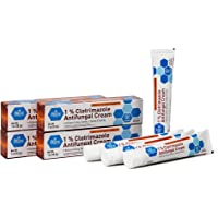 Medpride Athlete's Foot Antifungal Cream - Fungus Skin Care Treatment with 1% Clotrimazole - Jock Itch Body Ointment…