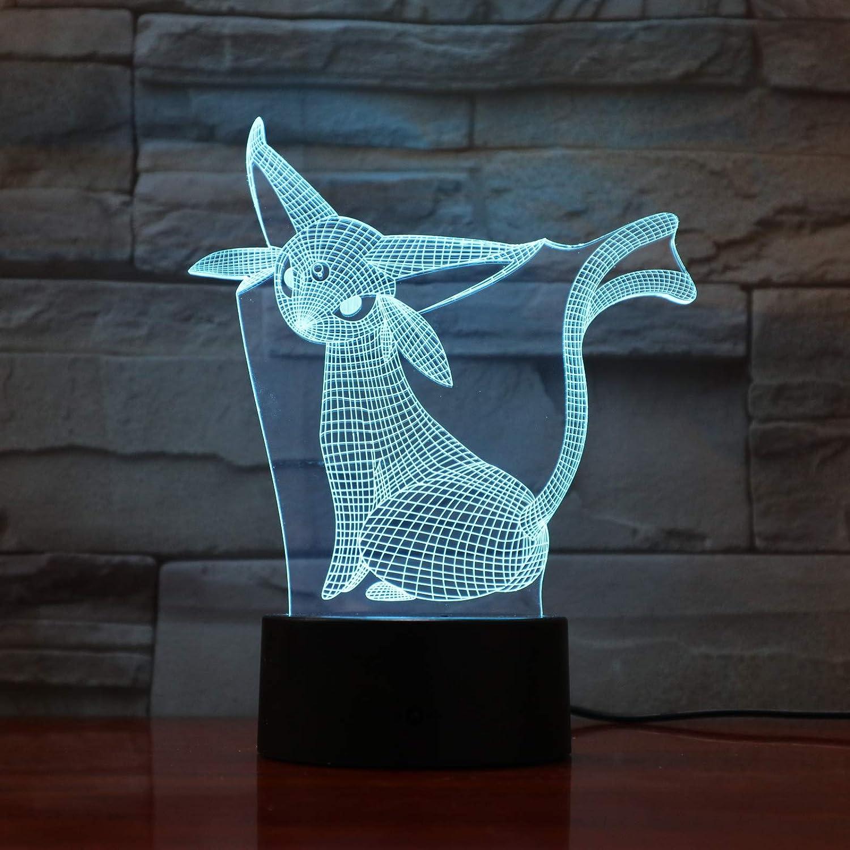 Wangzj Lámpara de ilusión 3d / Led luz de noche/Usb Powered ...