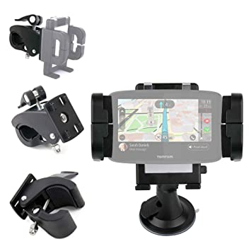 "DURAGADGET Soporte para GPS Tomtom GO 520 World 5"", Awesafe 7"", Floureon"