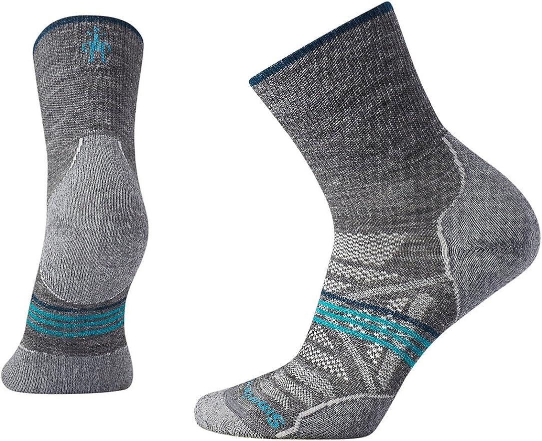 Smartwool Womens PhD Outdoor Light Pattern Mid Crew Socks