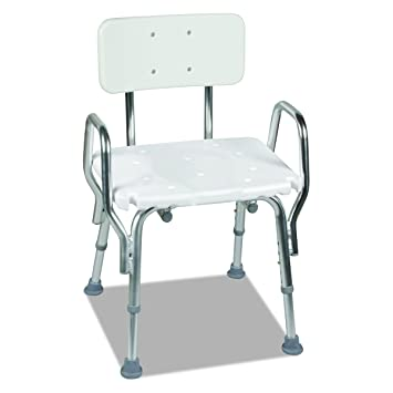 Amazon.com: Medical Tool-Free Assembly Spa Bathtub Shower Chair ...