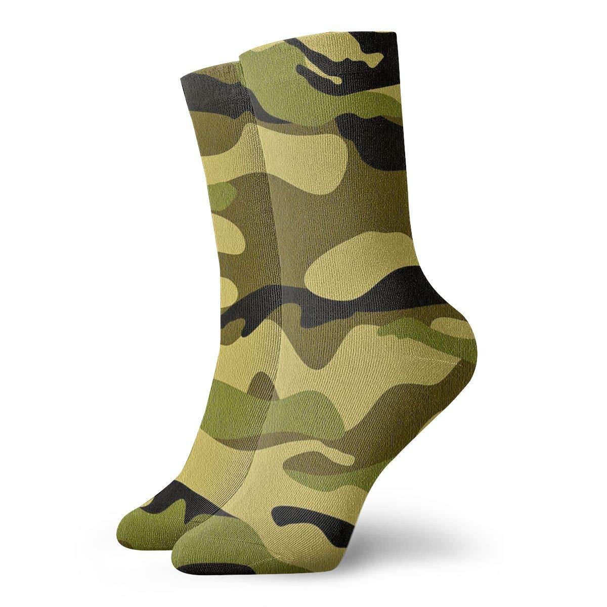 Leopard Unisex Funny Casual Crew Socks Athletic Socks For Boys Girls Kids Teenagers