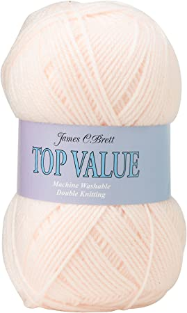 James C Brett Pretty Prints DK Knitting wool yarn P03 Buttercup blossom  100gms