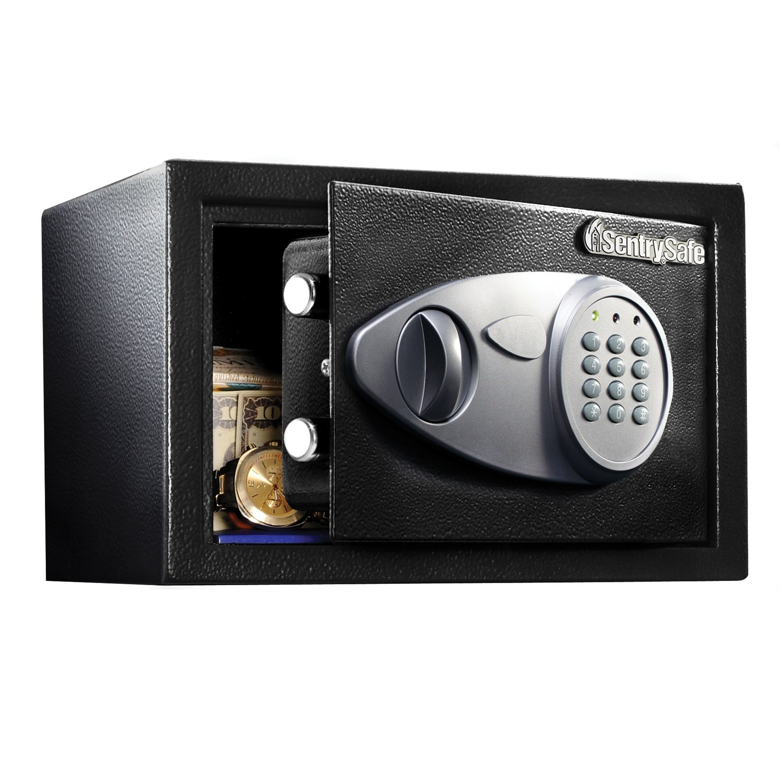 SentrySafe Security Safe, Small Digital Lock Safe, 0.4 Cubic Feet, X041E
