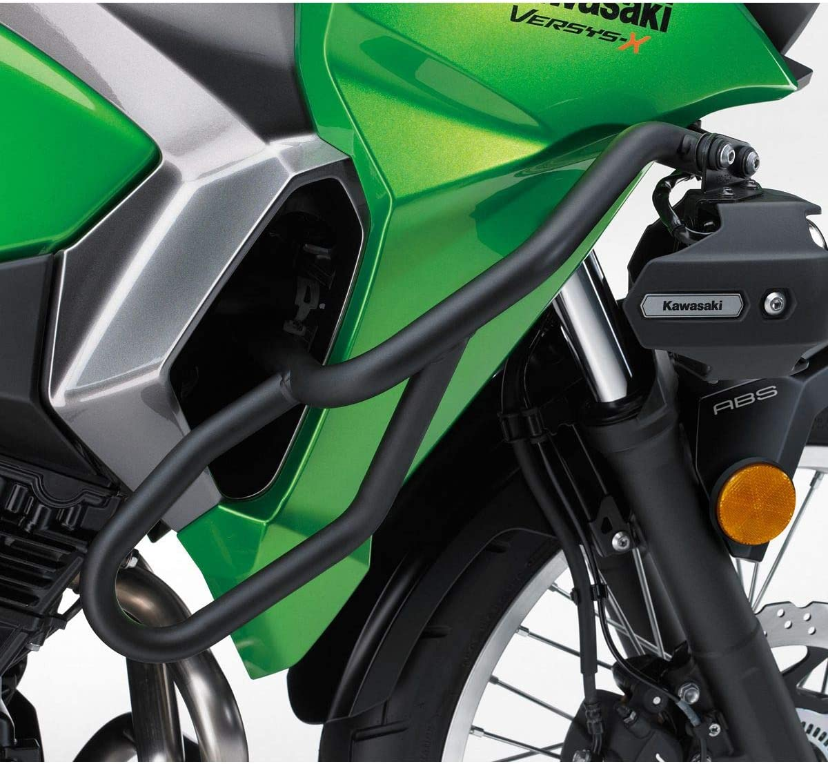 Genuine Kawasaki Accessories Engine Guard (Black) for 17-19 Kawasaki KLE300
