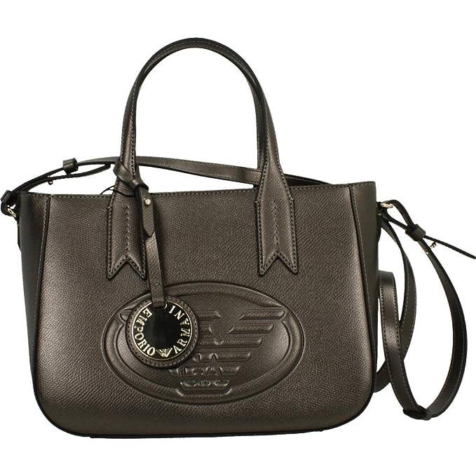 7377489b0f Emporio Armani Eagle Logo Donna Handbag Nero: Amazon.it: Abbigliamento