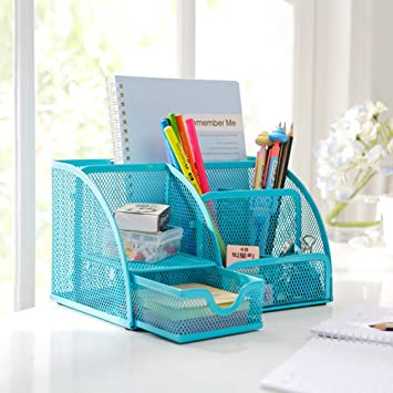 winomo Organizador de escritorio mesa de Organiser lápiz soporte ...